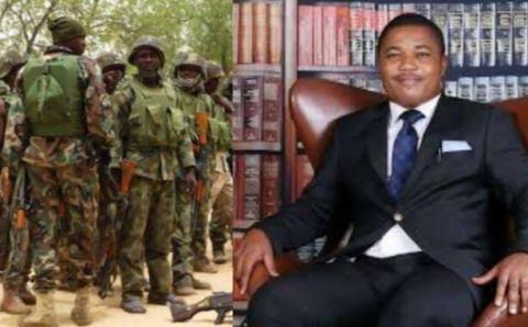 Sad: Nigeria soldiers kill IPOB lawyer's personal assistant