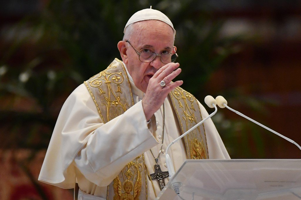 The Pope Amends the Roman Catholic Laws on sexual harassment, others