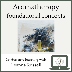 aromatherapy foundational concepts