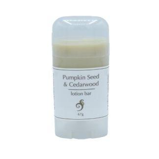 pumpkin seed lotion bar