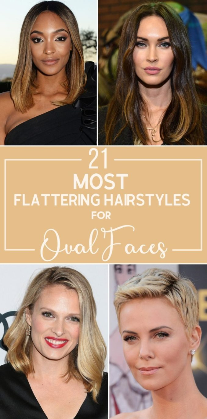21 most flattering hairstyles for oval faces
