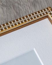 gold frame corner