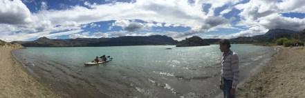 Kayaking in Lago General Carrera