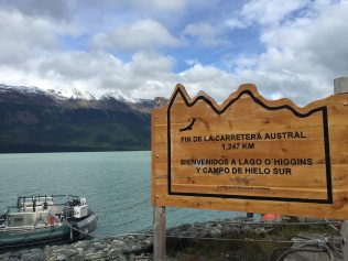 The end of the Carretera Austral