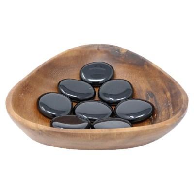 CPSBO - Palm Stone: Black Obsidian