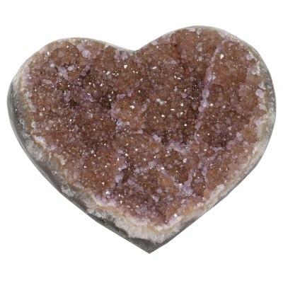 HRAM - Galaxy Amethyst Druze Hearts