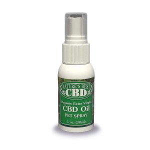 Picture of Nature's Best CBD Organic Extra Virgin CBD Oil Pet Spray, 1oz. size