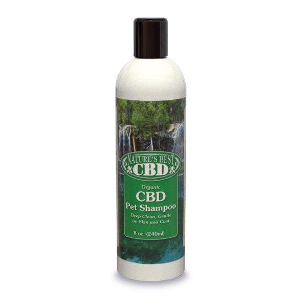 Picture of Nature's Best CBD Organic Pet Shampoo (8oz size)