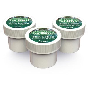 Picture of Nature's Best CBD 3 pack of Skin Lotion (1/2 oz each x 3)