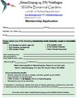 NatureScaping Membership Form