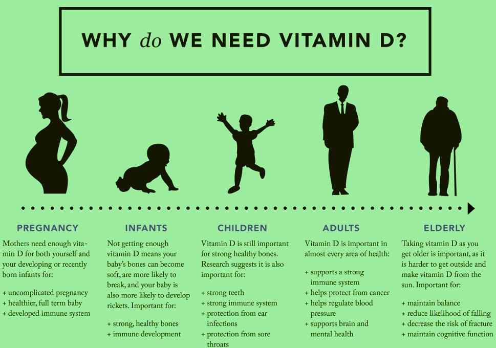 why do we need vitamin d infographic