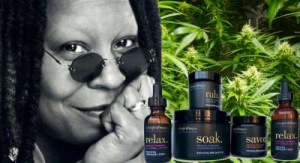 whoppi goldberg marijuana products