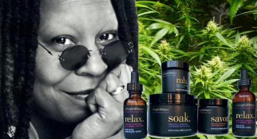Whoopi Goldberg Marijuana Products On Sale Now