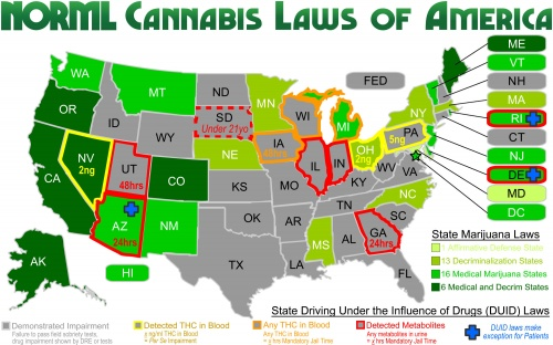 Recreational Marijuana States #Legal