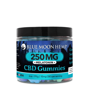 Blue Moon Hemp Gummies Melatonin