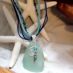 Seahorse sea glass