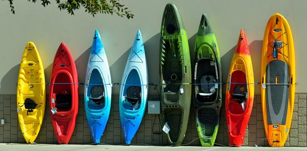 choosing your kayak