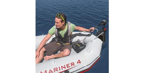 Intex Trolling Motor for Intex Inflatable Boats, 36 Shaft (Pros)