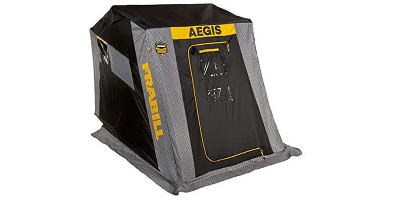 Frabill Aegis 2110 Top Insulated Flip-Over Front Door With Jump Seats