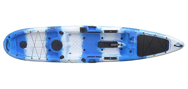 BKC UH-PK13 Pedal Drive Solo Traveler 13 Foot Kayak - Pedal Propeller Drive Single Sit On Top Fishing Kayak SPECIFICATION