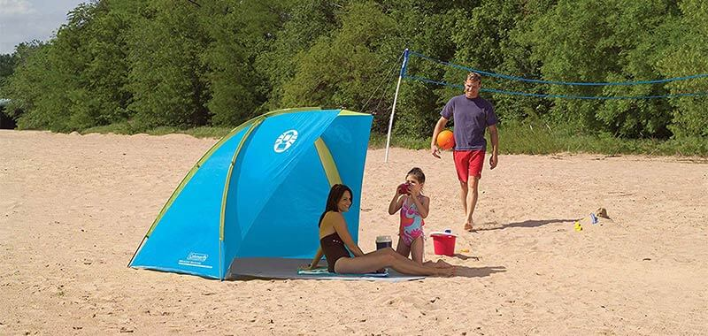 Coleman DayTripper Beach Shade Specification