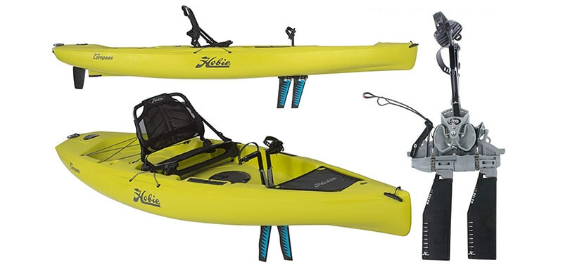 Hobie Mirage Compass Pedal Kayak with Reverse Drive