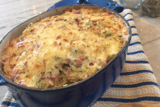 Ham & Potato Casserole