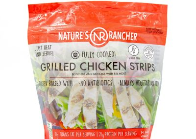 Fully Cooked Grilled Chicken Strips