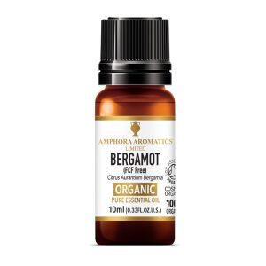 Amphora Aromatics Bergamot Organic Essential Oil