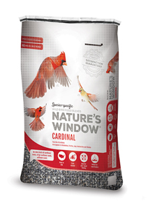 Image of Nature's Window Cardinal - 3/4 View