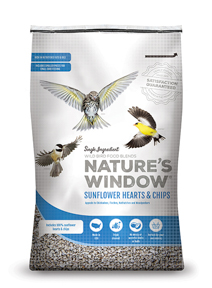 Image of Nature's Window Sunflower Hearts & Chips - Front View