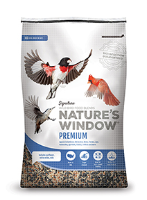 Image of Nature's Window Premium wild bird seed.