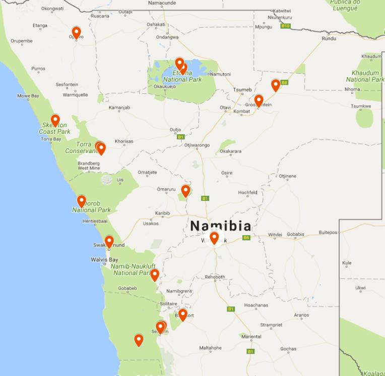 BEST OF NAMIBIA WILDLIFE
