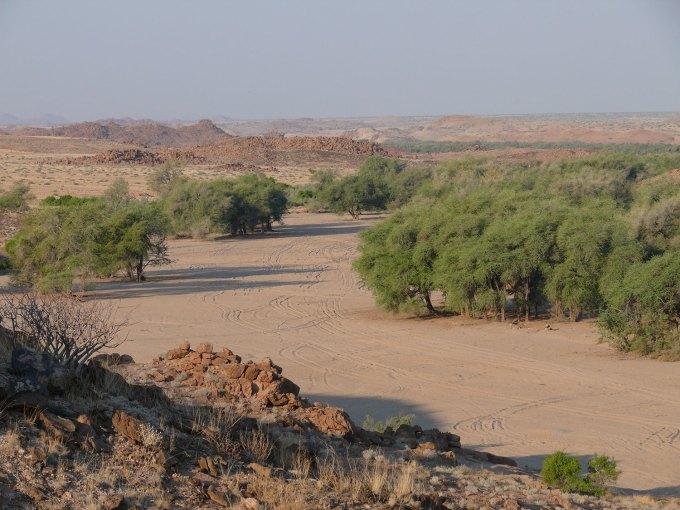 Damaraland---Ugab-River