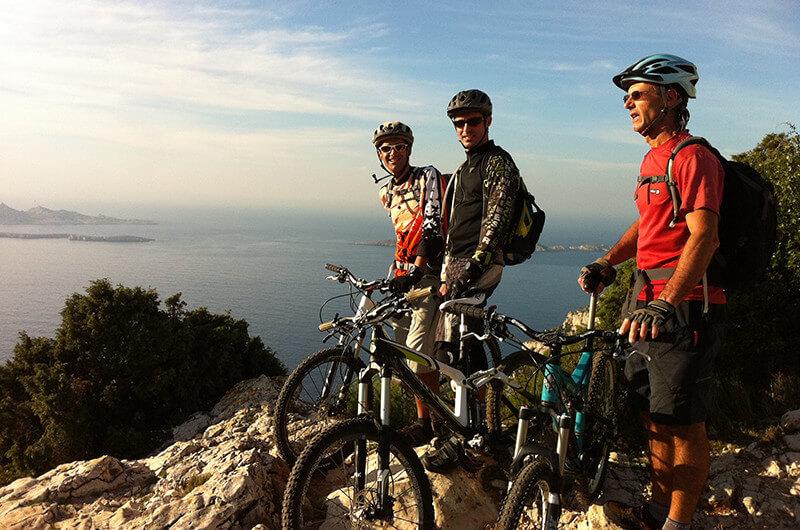 Le VTT électrique, idéal pour des balades en famille sur la Côte d'Azur