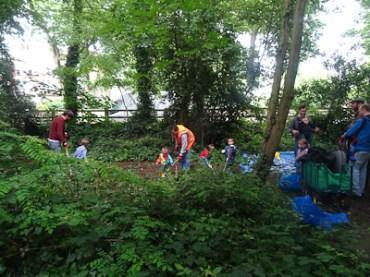 Kingihts Hill Wood - Capital Clean Up-3