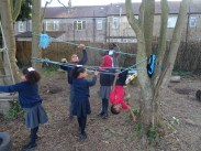 First Free forest school after school activity for Granton primary school children Lambeth-5