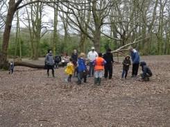Forest School activity Fern Lodge Estate Streatham Common Lambeth-5