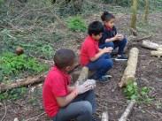 Forest School easter egg activity Granton Primary School Lambeth-8