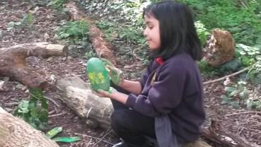 Forest School easter egg hunt Granton Primary School Lambeth-6