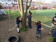 Granton Primary School forest school after school activity Lambeth-7