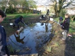 Granton Primary Year 5 students pond dipping Lambeth-4