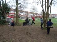 Second forest school after school activity for Granton primary school children -4