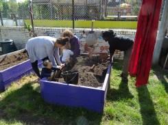 1st Forest School pre-school activity at Lollard St Adventure Playground-3