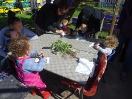 1st Forest School pre-school activity at Lollard St Adventure Playground-4