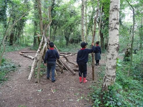 Forest School after school Lambeth London primary school-1