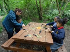 Forest School after school Lambeth London primary school-7