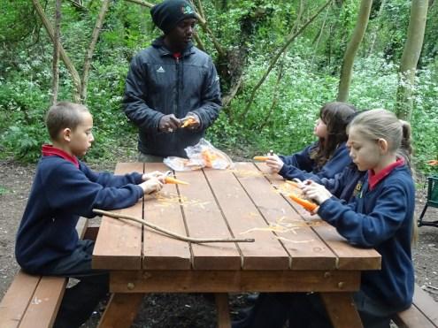 Forest School after school Streatham Lambeth London primary school -1