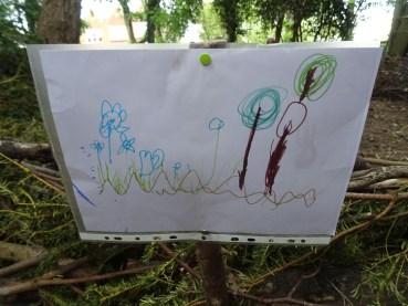 Free family nature activity Knights Hill Wood Lambeth London-11