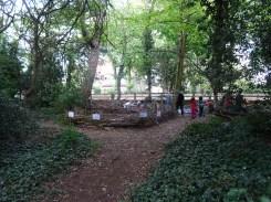 Free family nature activity Knights Hill Wood Lambeth London-14